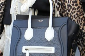 Who's that girl with her Celine Luggage Tote?