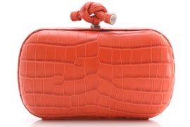 Bottega Veneta's Crocodile Knot Clutch is the stuff dreams are made of