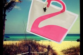 Want It Wednesday: Kate Spade Flamingo Tote (and perfect beach weather!)