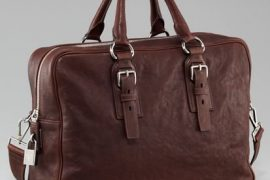 Man Bag Monday: Prada Leather Shoulder Bag