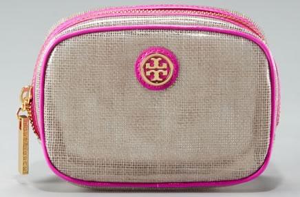 43417f8a2dae Tory Burch Logo Cosmetic Case - PurseBlog