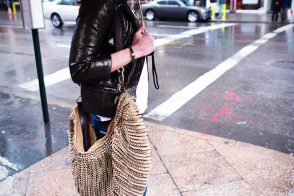 My DvF Stephanie in the rain