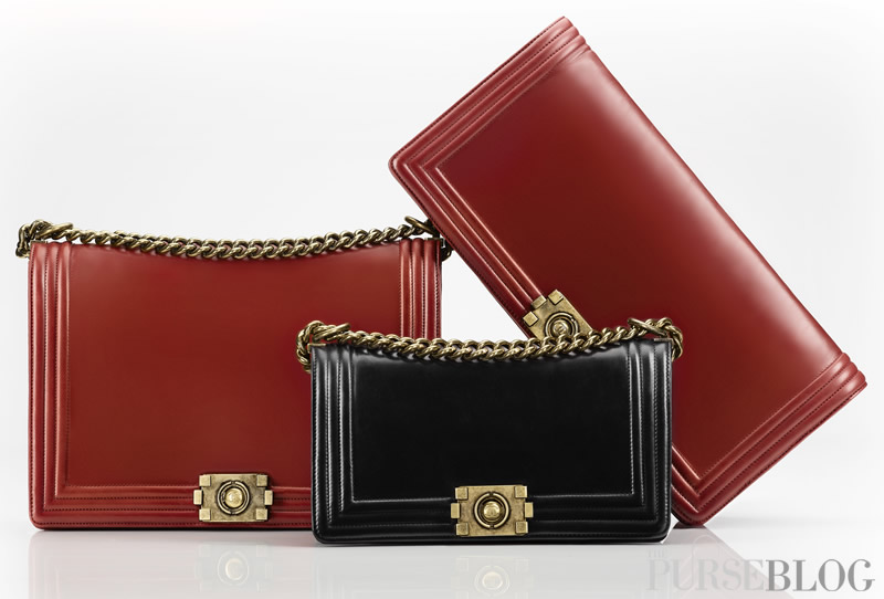 99a46610ad6f The Boy Chanel is produced in three sizes, the smallest functioning as a  purse and the largest as a tote. Staying true to Chanel, the colors palette  ...