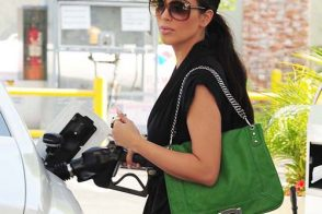 Kim Kardashian carries a $78 handbag