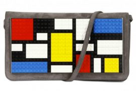 Mondrian…made out of Legos…on a clutch?