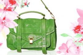 Proenza Schouler PS1 in Green for Spring