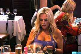 "RHOC: ""No food. Let's just have drinks."""