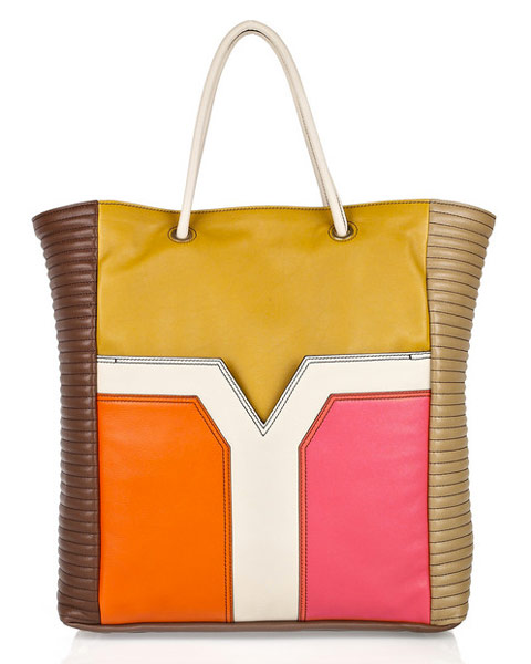 ba1e19f24e lazy placeholder. Yves Saint Laurent Lucky Chyc Colorblock Tote ...