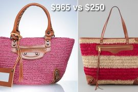 Look for Less: Raffia Tote