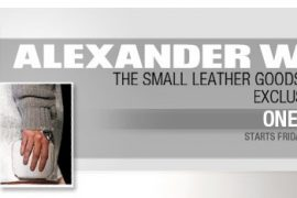 Alexander Wang to sell Fall 2011 runway leather goods on eBay