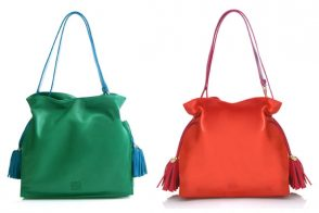 The Loewe Flamenco Bag, for the slightly more subtle colorblocker in you