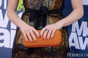Who's that girl with her Bottega Veneta Knot Clutch?