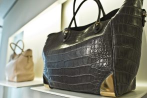 Weekend Obsession: Ferragamo Alligator Tote