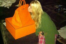 Jessica Simspon got a brand new Hermes Birkin for her birthday