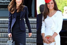 Kate Middleton supports British bag designers while touring Canada