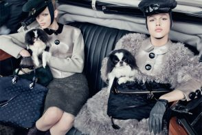 Louis Vuitton's excellent Fall 2011 collection produces equally excellent ad campaign