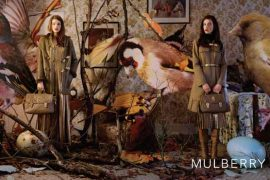 Check out Mulberry's absurdist Fall 2011 ad campaign