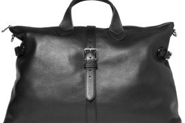 Man Bag Monday: The Mulberry Albert Leather Holdall