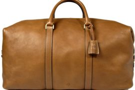 Man Bag Monday: The Mulberry Clipper Holdall