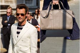 Man Bag Monday: Brad Goreski carries Louis Vuitton
