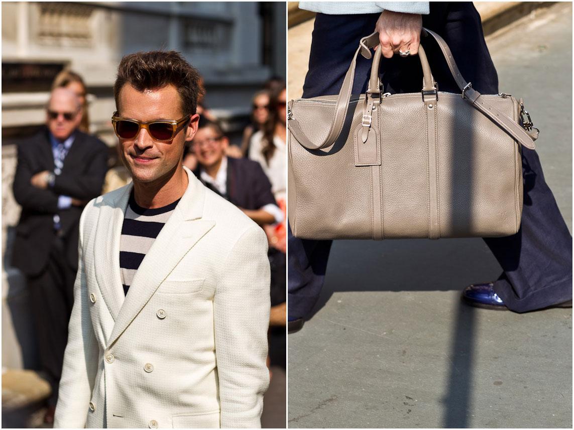 bdc9554fb902 Man Bag Monday  Brad Goreski carries Louis Vuitton