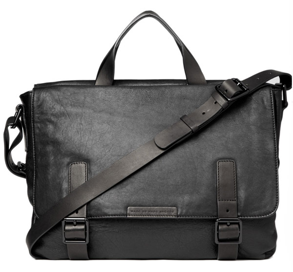 Man Bag Monday: Lanvin Grained Leather Messenger Bag - PurseBlog