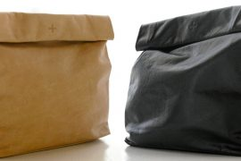 Marie Turnor bases a bag on brown paper lunch bags