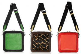 I have a serious crush on Meredith Wendell's bags