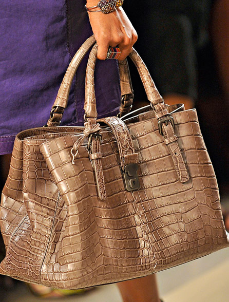 Fashion Week Handbags  Bottega Veneta Spring 2012 - PurseBlog ab01e8ab52