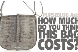 PurseBlog Asks: How much do you think this bag costs?