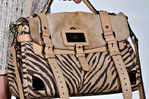 Fashion Week Handbags: Mulberry Spring 2012
