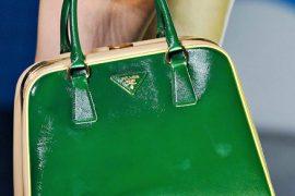 Fashion Week Handbags: Prada Spring 2012