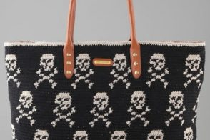Argh you loving the Rebecca Minkoff Skull Knit Tote?