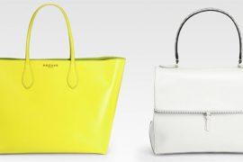 Would you carry something as minimal as these Rochas bags?