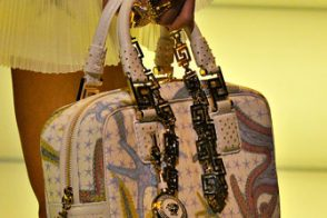 Fashion Week Handbags: Versace Spring 2012