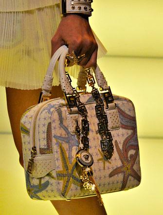 Fashion Week Handbags  Versace Spring 2012 - PurseBlog 8ac21399fd