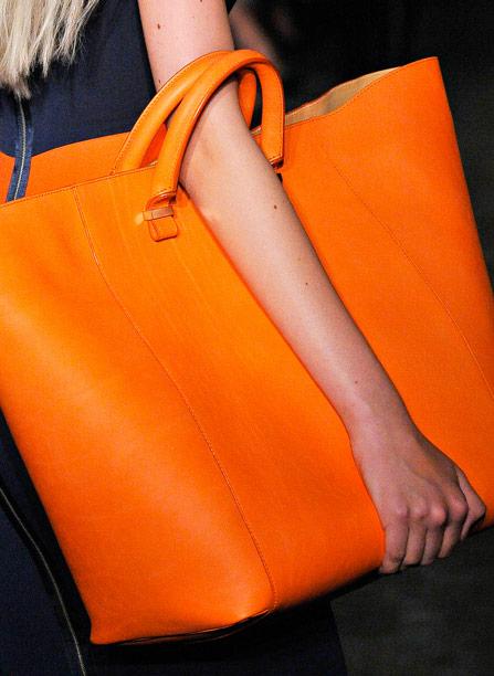 Fashion Week Handbags  Victoria Beckham Spring 2012 - PurseBlog bbd52c0a68