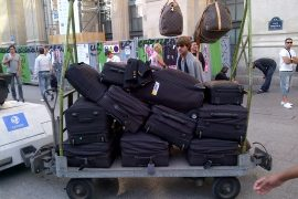This is how much luggage Rachel Zoe took to Paris Fashion Week