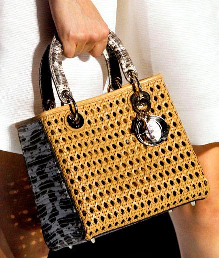 Fashion Week Handbags  Dior Spring 2012 - PurseBlog 3503e8ff76