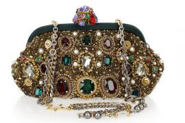 And now for something shiny and sparkly, courtesy of Dolce & Gabbana…