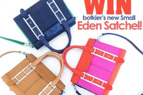 Win Botkier's new colorblocked Eden Satchel