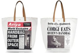 Anya Hindmarch brings a little bit of British humor to her tote bags
