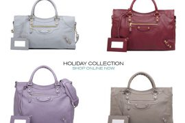 Ladies, start your engines: Balenciaga Holiday 2011 is now available online!