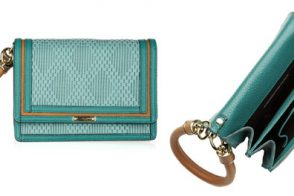 This Burberry bag is more than just your average wristlet