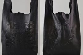 Even the tried-and-true takeout bag has gone high-end