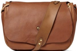 Man Bag Monday: Bill Amberg Full Grain Leather Messenger Bag