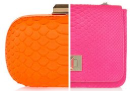 Emilio Pucci goes with bright python for spring