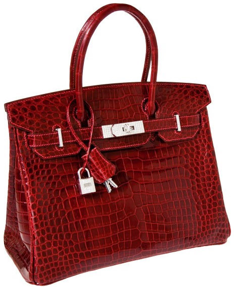 hermes messenger bag - This crocodile Hermes Birkin set a new price record for handbag ...