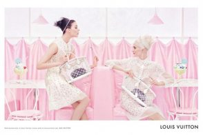 Louis Vuitton's Spring 2012 ad campaign is just as sugar sweet as the collection