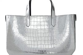 Forget straw – what you really want is a mirrored Marc Jacobs beach bag